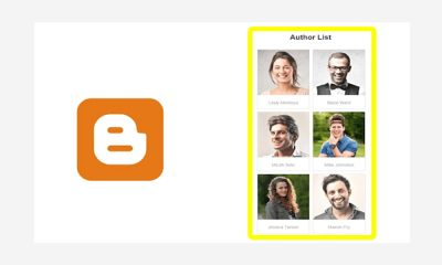 How To Filter Blogger Posts By Authors