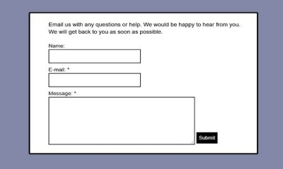 How To Add A Contact Form & Create A Separate Contact Us Page On Blogger