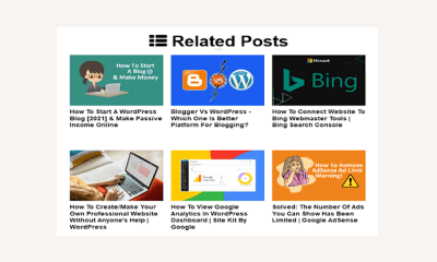 Best Blogger Related Posts Widget With Thumbnails