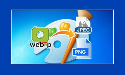 How To Convert WebP To JPEG & PNG Using MS Paint In Windows