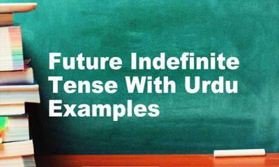 Future Indefinite Tense With Urdu English Examples