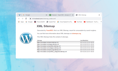 Create Sitemap In WordPress