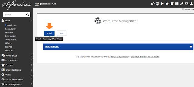 How To Start A WordPress Blog | Install WordPress on Hostgator 5