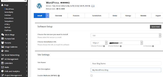 How To Start A WordPress Blog | Install WordPress on Hostgator 6