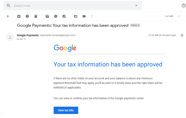 How To Fill Manage Tax Info In Google AdSense   Withholding Tax, W-8BEN Form, US Tax Treaty 19
