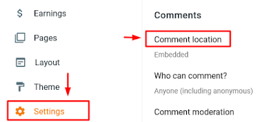 How to Show/Hide Comments Box On Blogger