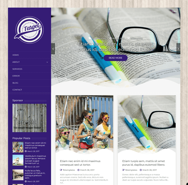 Best Blogger Templates For Food & Recipe Blogs | Target