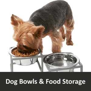 Dog Bowls and Food Storage with Free Shipping
