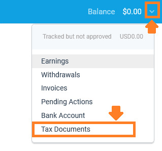How To Sign Up & Use Impact Radius Affiliate Network | Tax Document 1