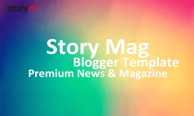 Story Mag News and Magazine Blogger Template