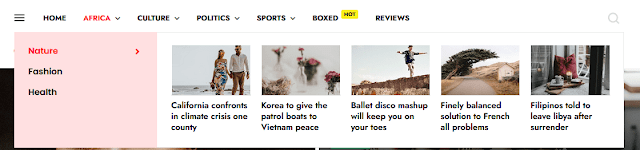 Story Mag - Blogger Premium News & Magazine Template 1