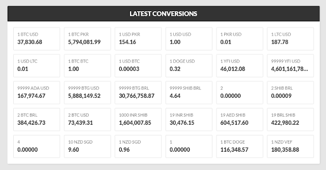 PHP Script For Crypto Currency Conversion Calculator | Exchange Rates 4
