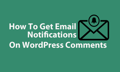How To Get Email Notification On WordPress Comments 0