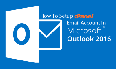 How To Setup cPanel Email Account In MS Outlook 2016 0