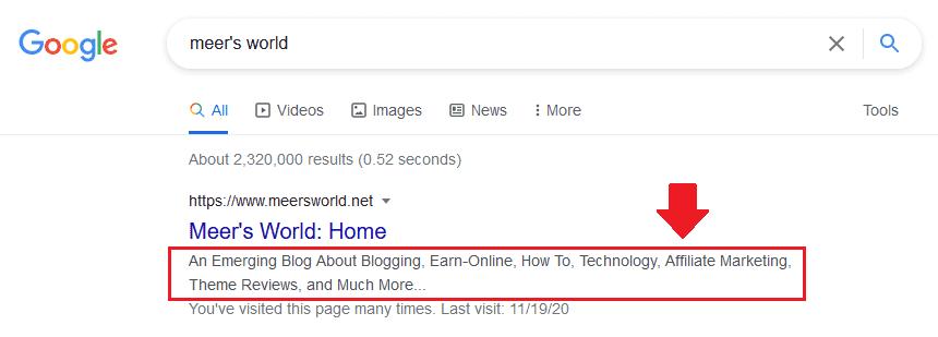 Yoast: How To Show Tagline Meta Description In Google 6