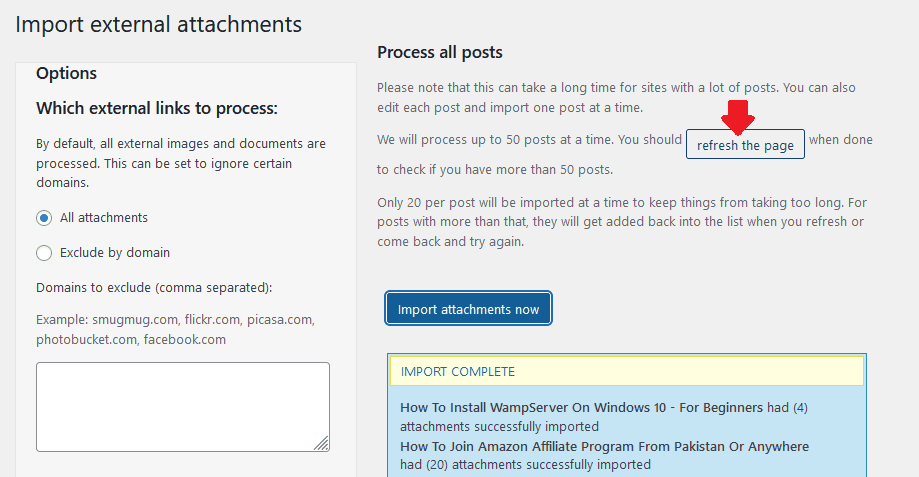 How To Import Blogger Images To WordPress Completely 7