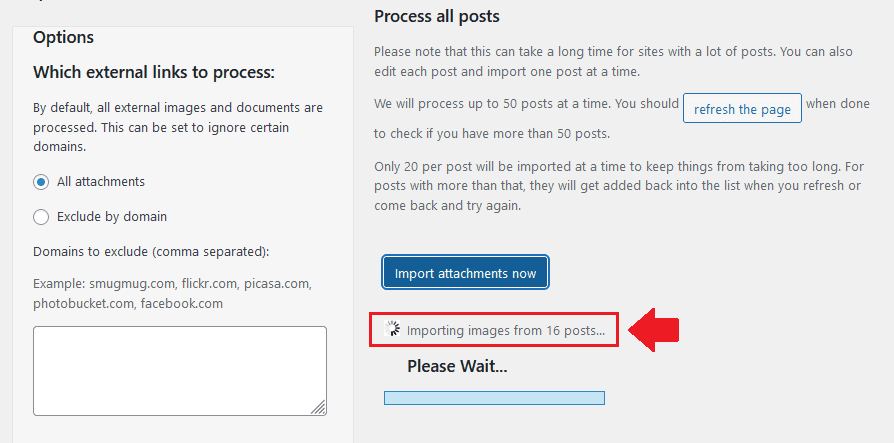 How To Import Blogger Images To WordPress Completely 8