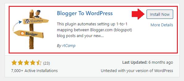Migrate Blogger Blog To WordPress 22