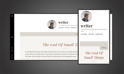 Best Personal Blogger Template For Writers featured