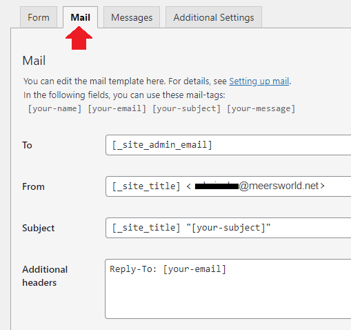 Add Contact Form In Contact Us Page In WordPress 7