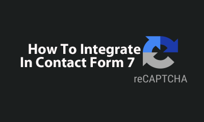 Integrate reCAPTCHA In Contact Form 7 featured image